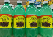 6 Bottles Of Authentic Jamaican Old Ginger Beer Soda 591 Ml