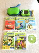 Leapfrog Leapster 2 Learning System Case, Cd, Connector, 5 Games W/ Instruct.
