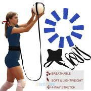 Volleyball Practice Belt Adjustable Volleyball Solo Training Equipment Game Set