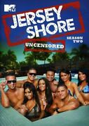 Jersey Shore Mtv Complete Uncensored Season Two Series 2 Tv Show Dvd New Reality