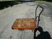 Antique Nutting Truck Co. Railroad/ Industrial Cart/truck Exc. Graphics 36 X 24