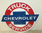 Large Vintage Style 24 Chevrolet Truck Chevy Signs Man Cave Garage Decor