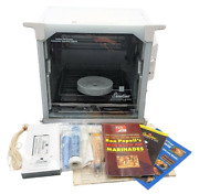 Ronco Showtime Rotisserie Bbq Chicken Oven 4000 Nr W Manual Vhs Cookbooks