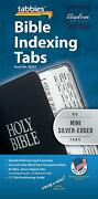 Tabbies Bible Indexing Tabs Silver