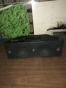 Beats By Dr. Dre Beatbox Portable Black Speaker System Power On Port
