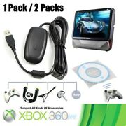 2xusb Wireless Receiver Game Controller Adapter For Microsoft Xbox 360 Window Pc