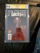 Locke And Key 1 Df Variant Cgc Ss 9.8 Signed By Gabriel Rodriguez And Joe Hill
