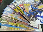 1998 Roadracing World And Motorcycle Tech Group Lot 12 Magazines Complete Year All