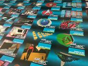 Star Trek The Next Generation Trading Cards Poster Lot Of Two Uncut Sheets