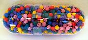 800 + Toy Vending Mad Bad Ball Monster Pop Beads In Old Doctors Capsule Display