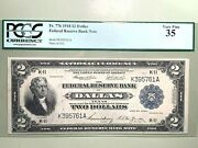 1918 2 Federal Reserve Bank - Dallas - Pcgs 35 Very Fine Fr. 776