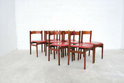 Set Of 8 Chairs Model 101 By Gianfranco Frattini Per Cassina Anni 6070