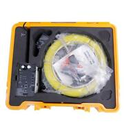 Brand New Waterproof Pole Pipe Sewer Camera Inspection With 512 Transmitter 710d