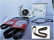 Toyota V6 Serpentine And Timing Belt Set Air/steering/alternator And Water Pump