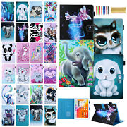 Cute Pattern Leather Stand Smart Cover Case For Ipad 10.2/6th/air 2/mini/pro
