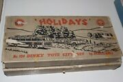 Dinky Toys Rare Holidays Gift Set 124 Complete With Vega Instruction