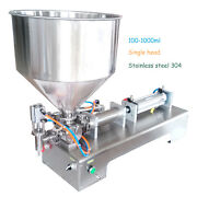 Automatic Paste Filling Machine 100-1000ml For Cream Honey Sauce Cosmetics Tooth