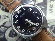 Nappy 3hands Military Type Small L Manual Vintage Watch 1960and039s Overhauled