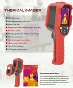 Temperature Camera Uni-t165k Thermometer Human Body Infrared Thermal Imager Ledandnbsp