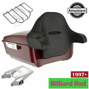 Billiard Red King Tour Pak Pack For Harley Street Road Electra Glide 97+