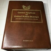 Golden Replicas Of United States Stamps 22k 72 Stamps Gold Plated Collection