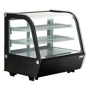 Commercial Countertop Refrigerator 120l Bakery Dairy Display Cooler Case Cake