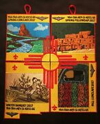 Yah-tah-hey-si-kess Oa Lodge 66 Bsa Great Southwest 2017 Event Puzzle Patch Set
