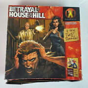 Betrayal At House On The Hill Avalon Hill Strategy Game 1st Ed Unpunched G73