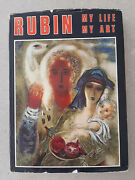 My Life My Art Reuven Rubin Dedicated Illustrated And Signed Copy Israel Paintings