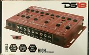 Ds18 - Xm6ld - 6-way Active Crossover - High/low Pass, 2, 4, 6 Channel Selector
