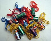 12 Pepsi 7up And Dr Pepper Plastic Soda Can Charm Vending Machine Prizes Old Stock