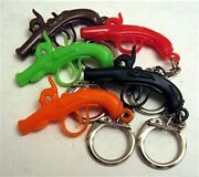10 Flintlock Pistol Kc Charms Gumball Vending Machine Toy Prizes Old Store Stock