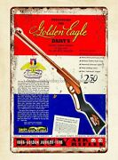 Wall Art 1936 Ad Daisy Air Rifle Toy Golden Eagle 1886 Jubilee Metal Tin Sign