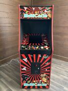 New Red Star Burst Arcade Machine Upgraded To Play 412 Games