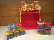 Fisher Price Peek-a-blocks Circus Set With Big Top Carrier