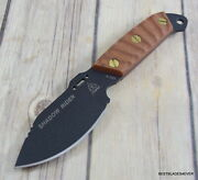 Tops Shadow Rider Fixed Blade Tactical Hunting Knife Kydex Sheath Made In Usa