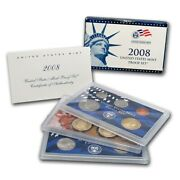 2008 United States Mint Proof Set Near Perfect Original Government Package Ogp