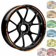 17/18 Motorcycle Racing Rim Stripes Wheel Dacal Tape Stickers For Honda Cb500x