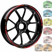 17/18 Motorcycle Racing Rim Stripes Wheel Dacal Tape Stickers For Honda Cb1000r