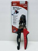 New Malco Tools N1r Redline 13/16 Hand Notcher Fast Shipping