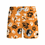Tennessee Volunteers Wes And Willy Ncaa Mens Floral Swim Shorts M