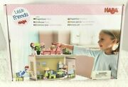 New Haba Little Friends Small Dollhouse For 4 Bendy Doll One Annex Room