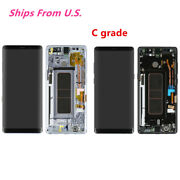 Us For Samsung Galaxy Note8 N950 Lcd Display Digitizer Screen Glass Frame C