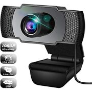 Webcam, With Microphone, Usb 3d Denoising And For Free Ship