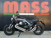 Moto Guzzi Griso 1200 8v Massmoto Exhaust Full-system 2in2 Thesis Silencers New