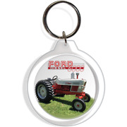 Ford Diesel 6000 Antique Farm Garden Tractor Collectible Keyring Holder Part Fob