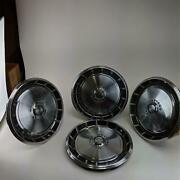 Ford Mustang Standard 14 1971 - 1973 Vintage Hubcaps Dogdish Style Wheel Cover