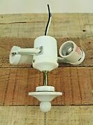 Harbor Breeze Double Lamp Holder Socket W/extended Weighted Pull Down 250v 660w