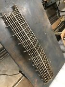 1960 1961 Cadillac Deville Upper Grill Bullet Style