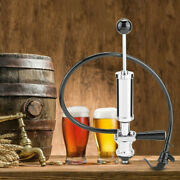 """4""""home Heavy Duty Beer Keg S System Draft Beer Picnic Tap Party Pump"""
